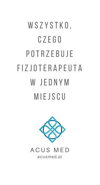 Sklep Acusmed - Kinesiotaping i Akupunktura, profesjonalne zaopatrzenie fizjoterapeutów
